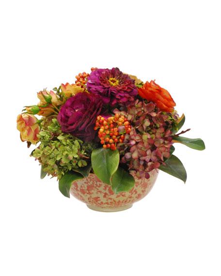 Winward Mix Floral in Long Life Bowl