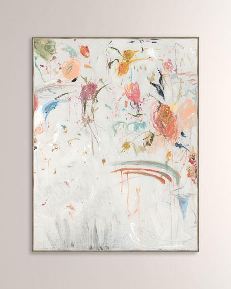 """Pale Garden II"" Giclee on Canvas Wall Art"