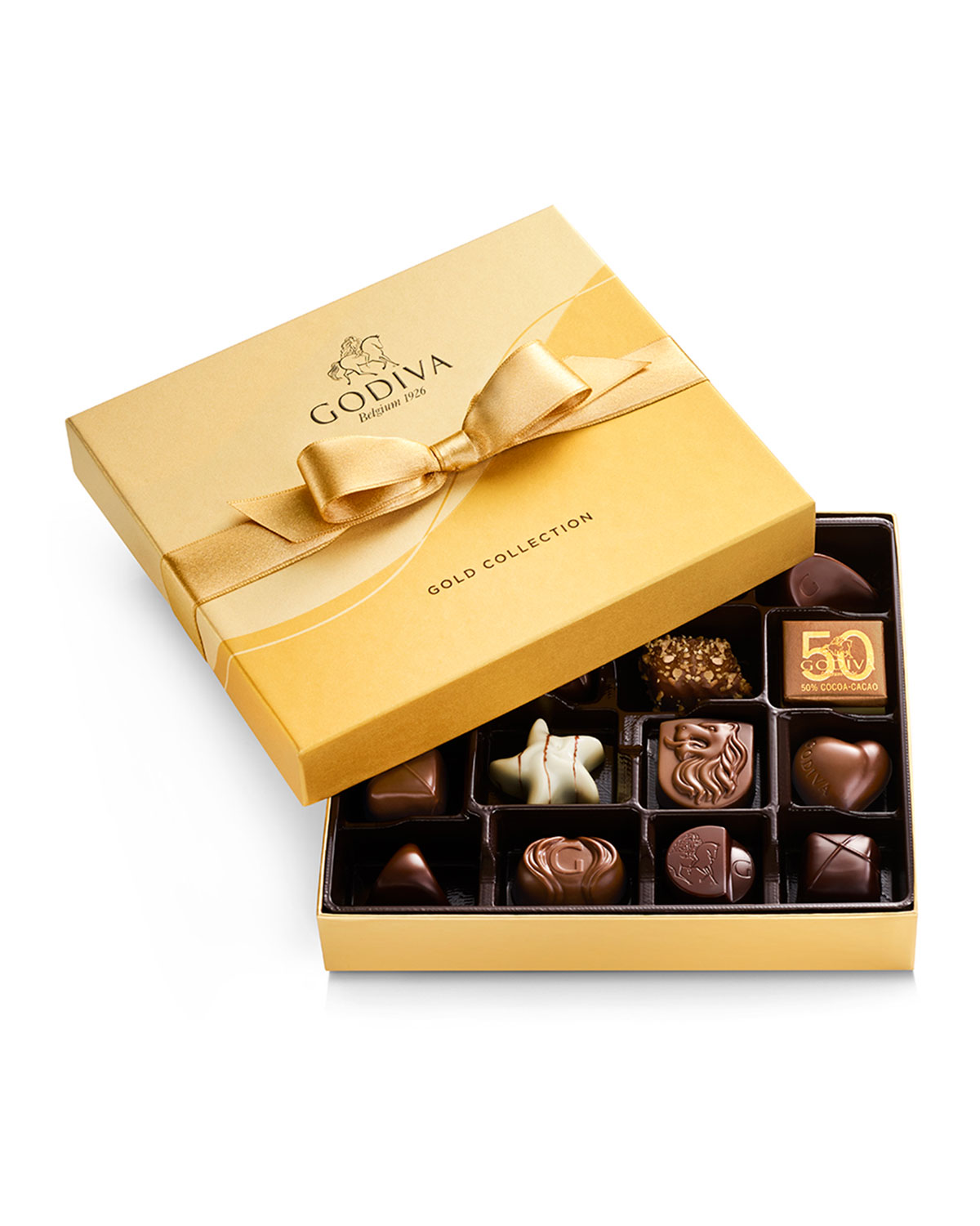 19-Piece Assorted Chocolate Gold Gift Box