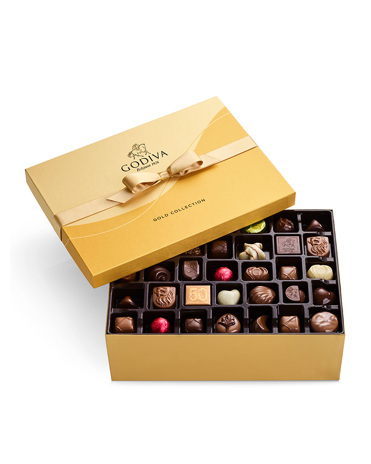105-Piece Assorted Chocolate Gold Gift Box