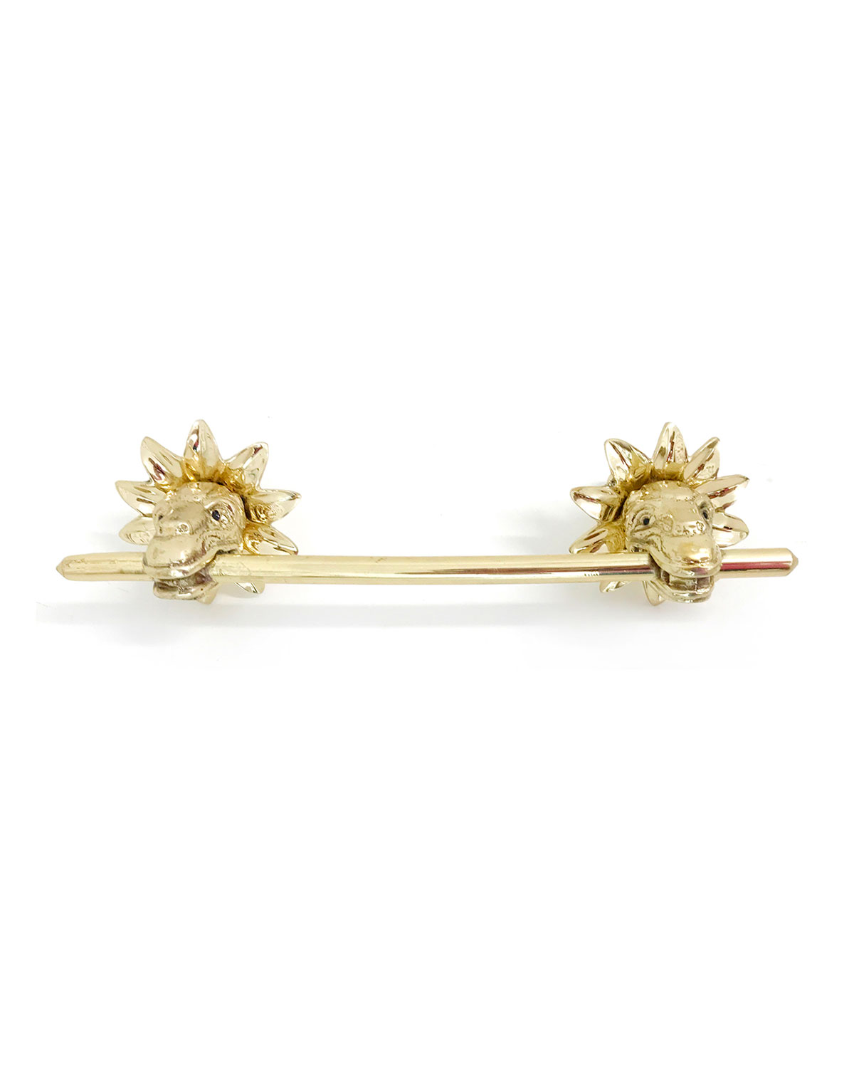 Addison Weeks Michelle Nussbaumer Kukulkan Bar Drawer/cabinet Pull With Backplate In Gold