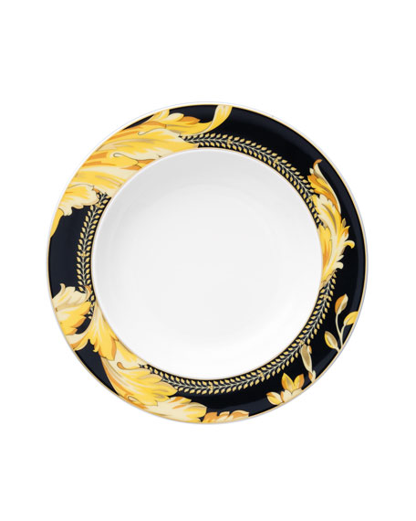 Versace Vanity Rim Soup Plate