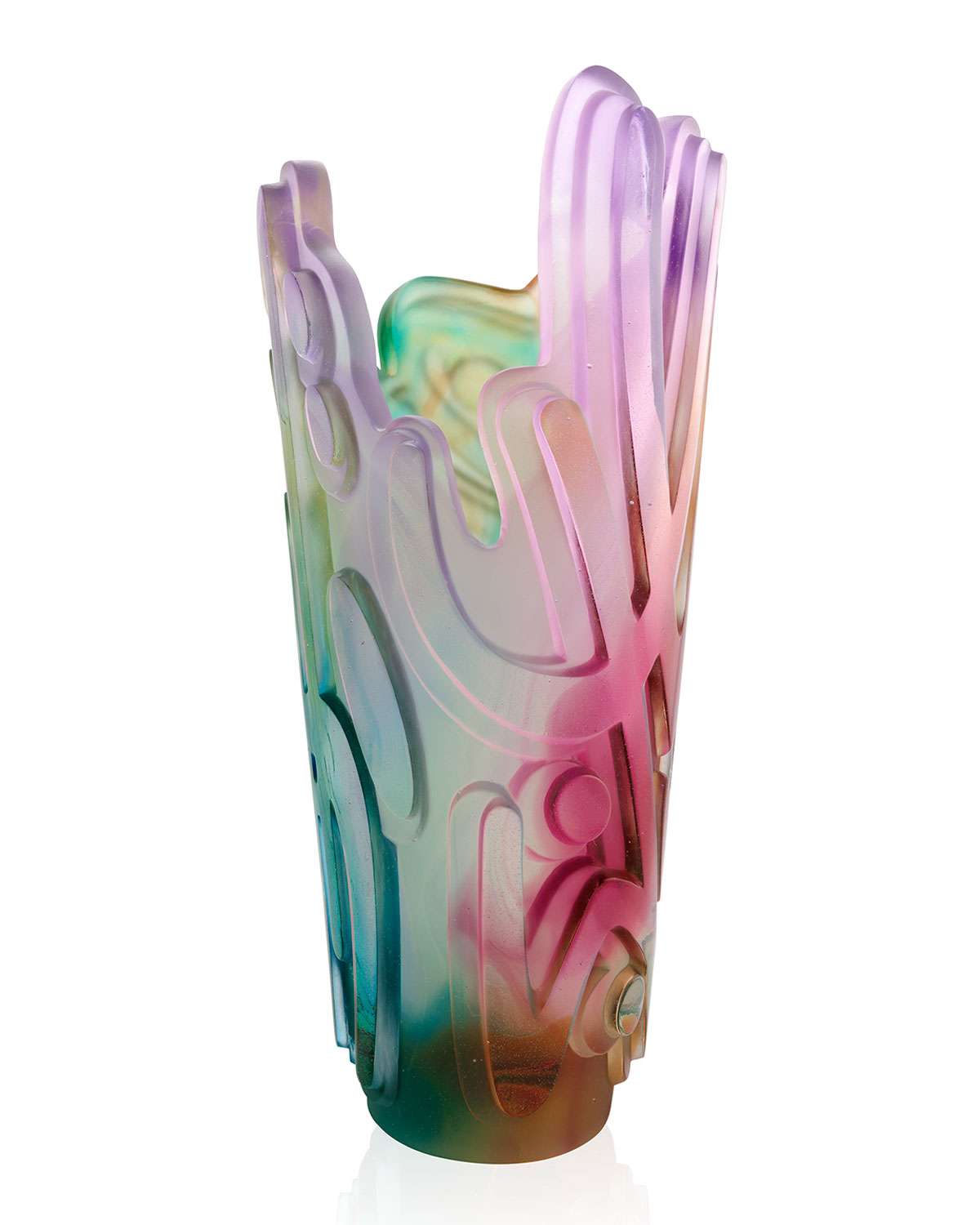 Daum CRYSTAL ROCK I VASE