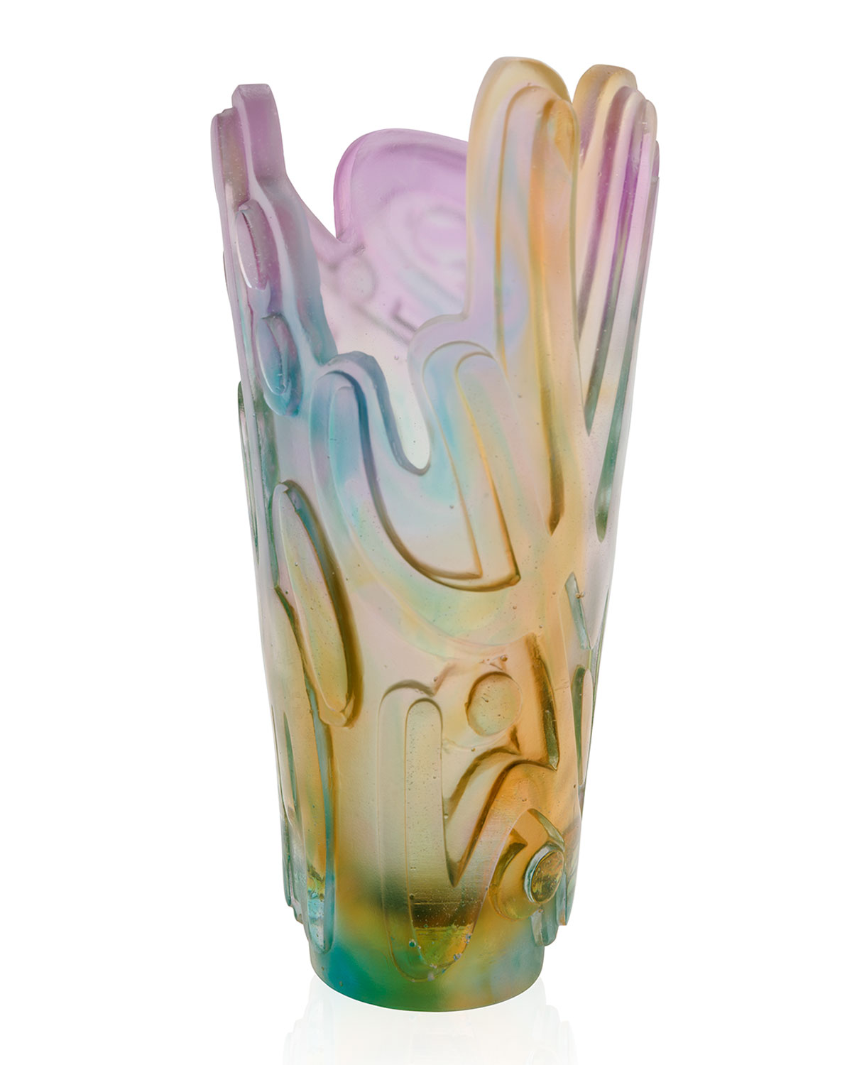 Daum CRYSTAL ROCK II VASE