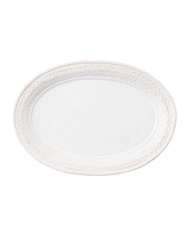 Juliska Kitchen & dinings LE PANIER WHITEWASH PLATTER