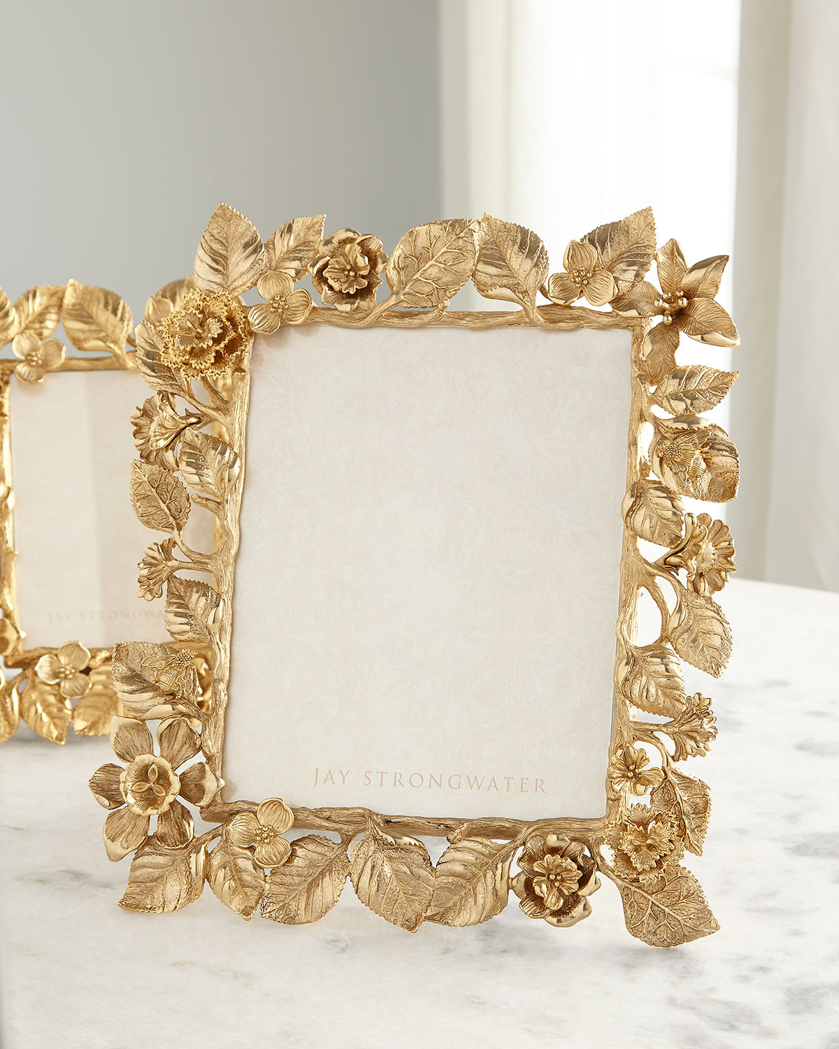 """Jay Strongwater DUTCH FLORAL FRAME COMPOSITION, 8"""" X 10"""""""