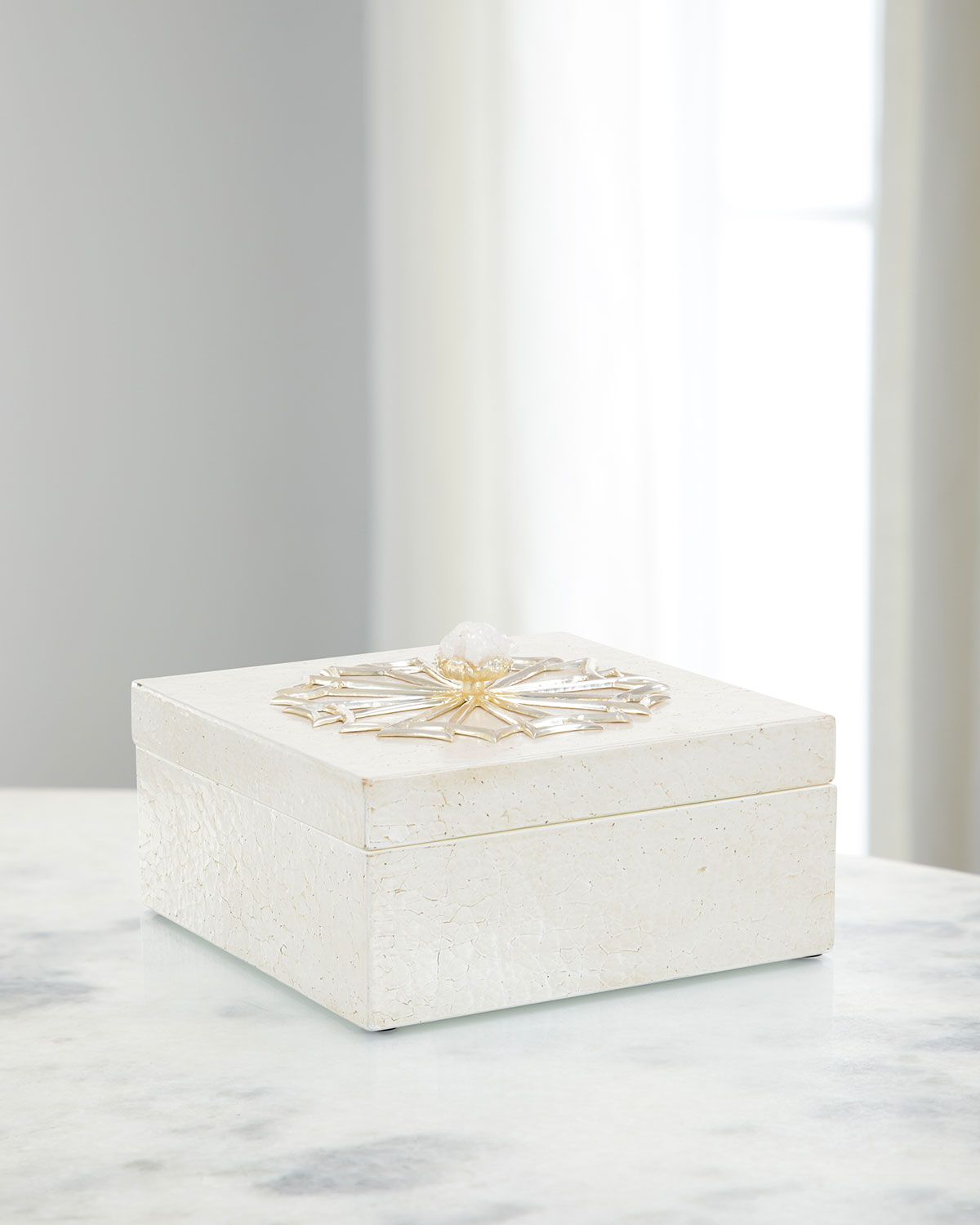 John-Richard Collection Clothing IVORY TEXTURED BOX