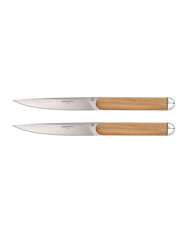 Christofle Cutlerys ROYAL CHEF STEAK KNIVES, SET OF 2