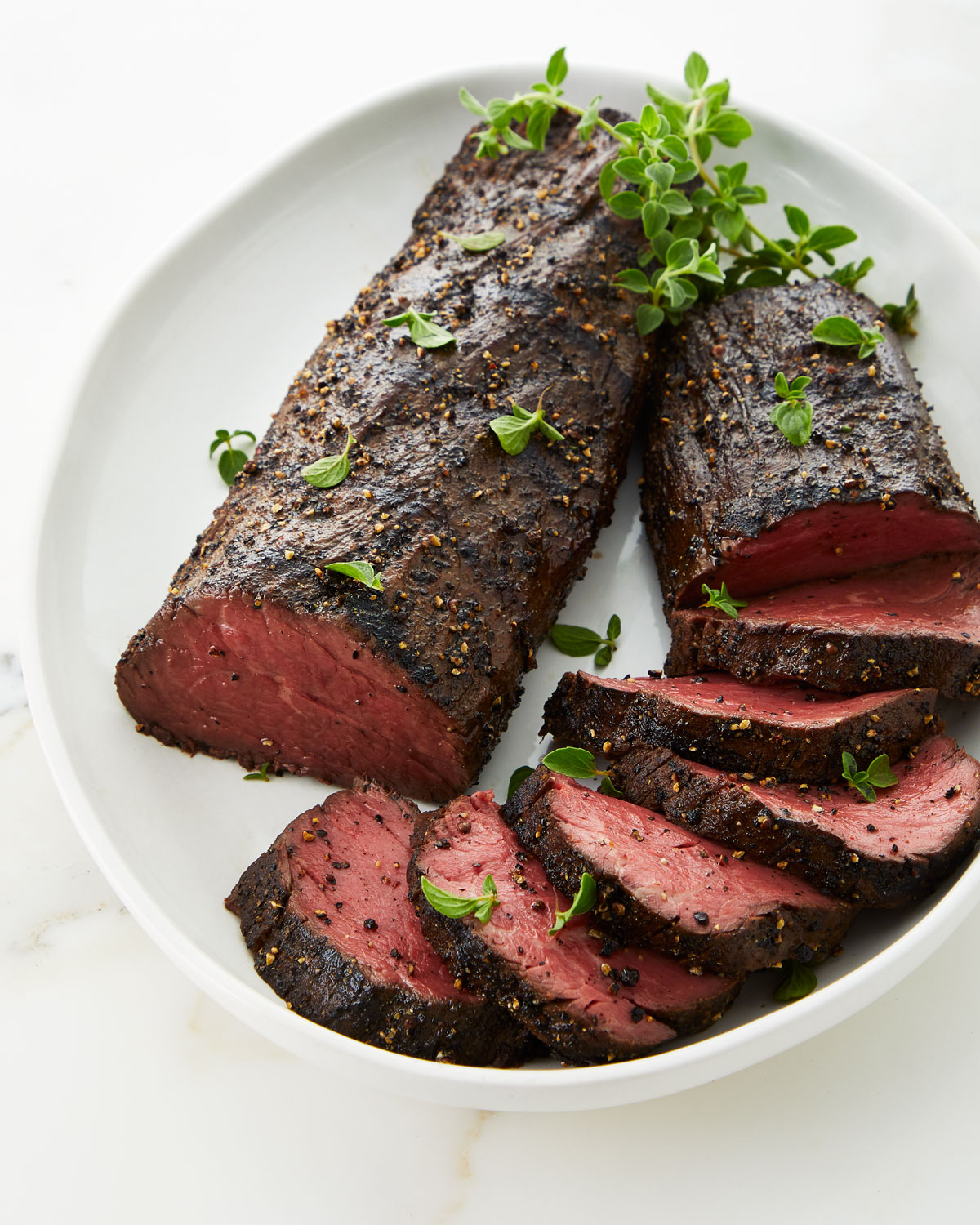 Mesquite Smoked Peppered Beef Tenderloin & Perini Ranch Steakhouse Cookbook