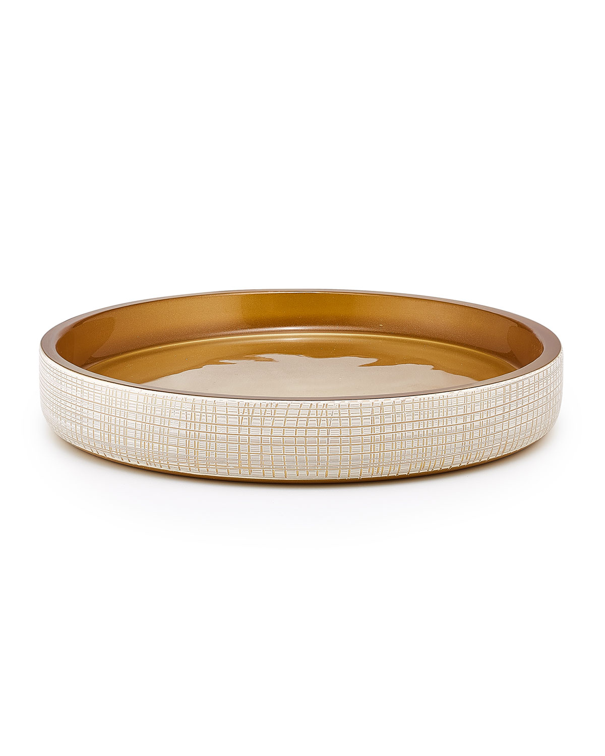 Labrazel Cookware & bakewares WOVEN GOLD TRAY