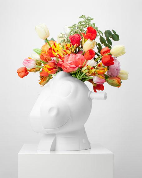 Bernardaud Split-Rocker Vase