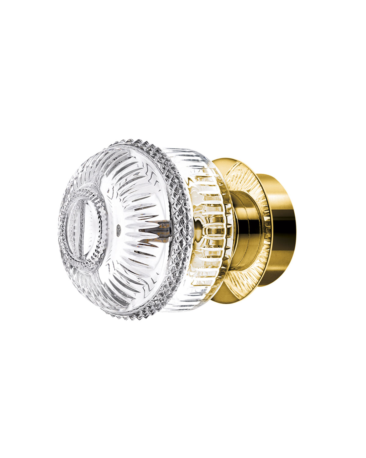 Saint Louis Crystal Clothing MATRICE SMALL SCONCE, GOLD