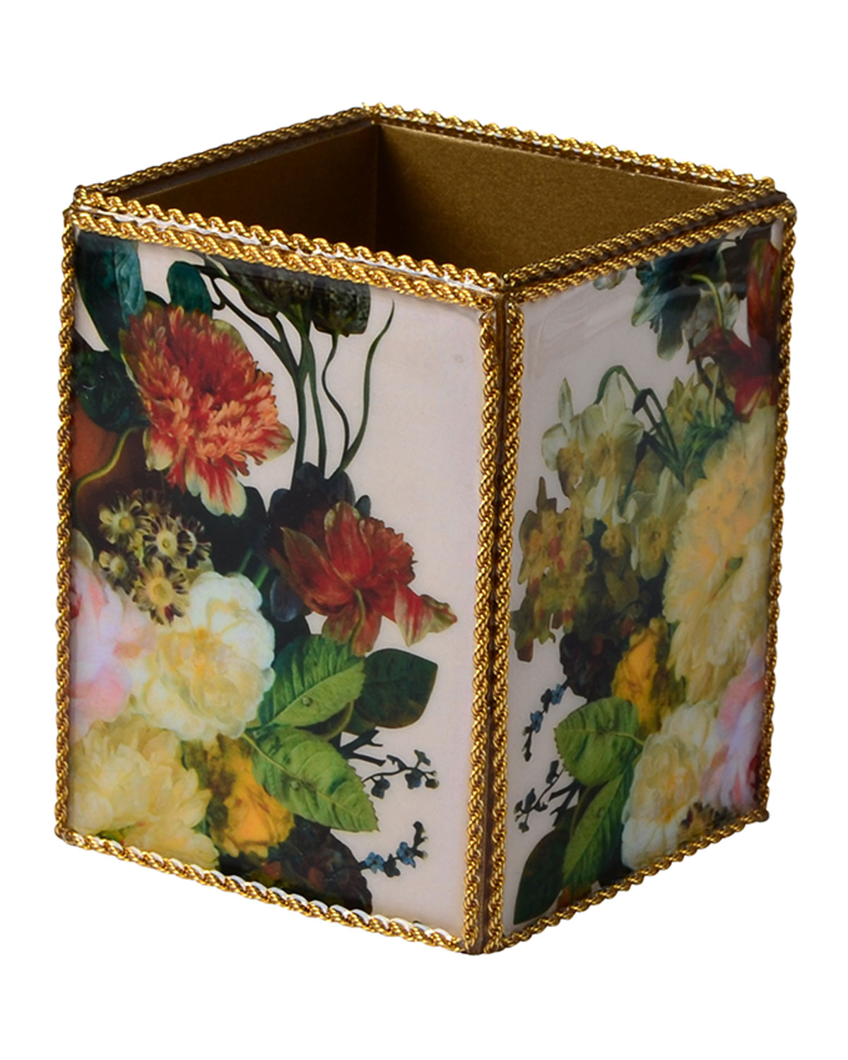 Mike & Ally BOUQUET GOLD TUMBLER