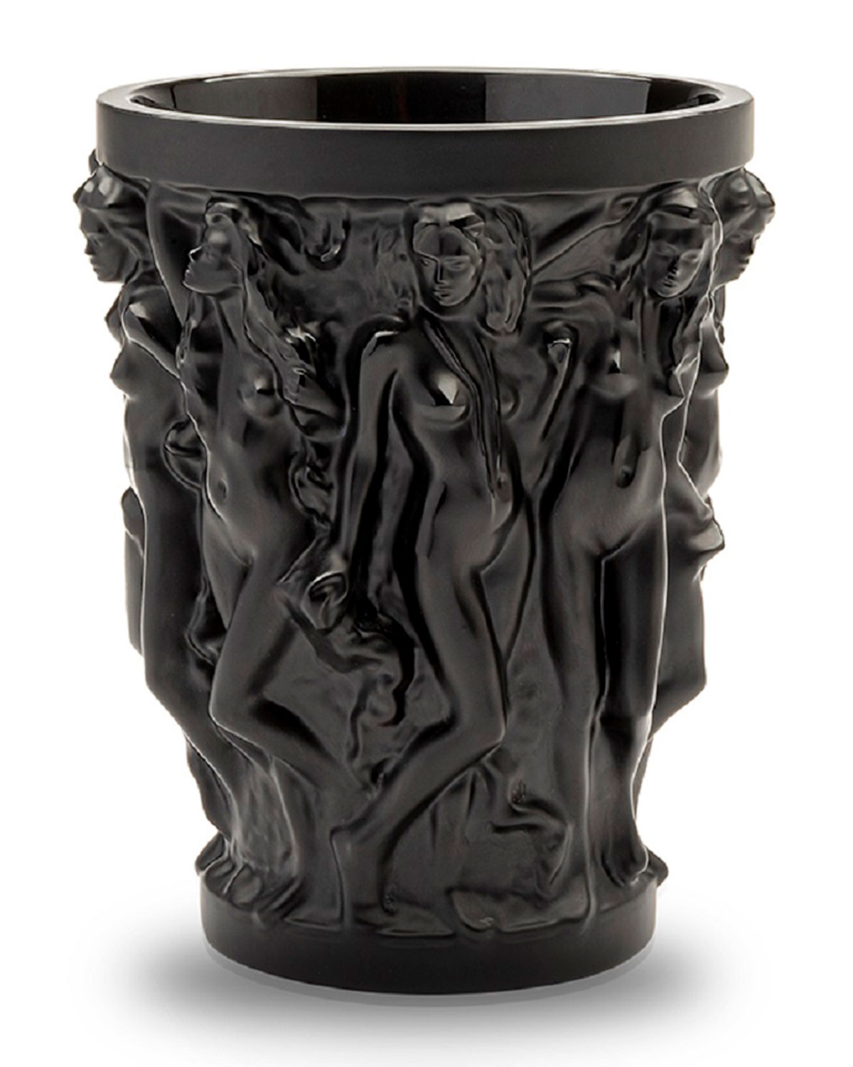 Lalique Home decors LIMITED EDITION SIRENES BLACK VASE BY TERRY RODGERS