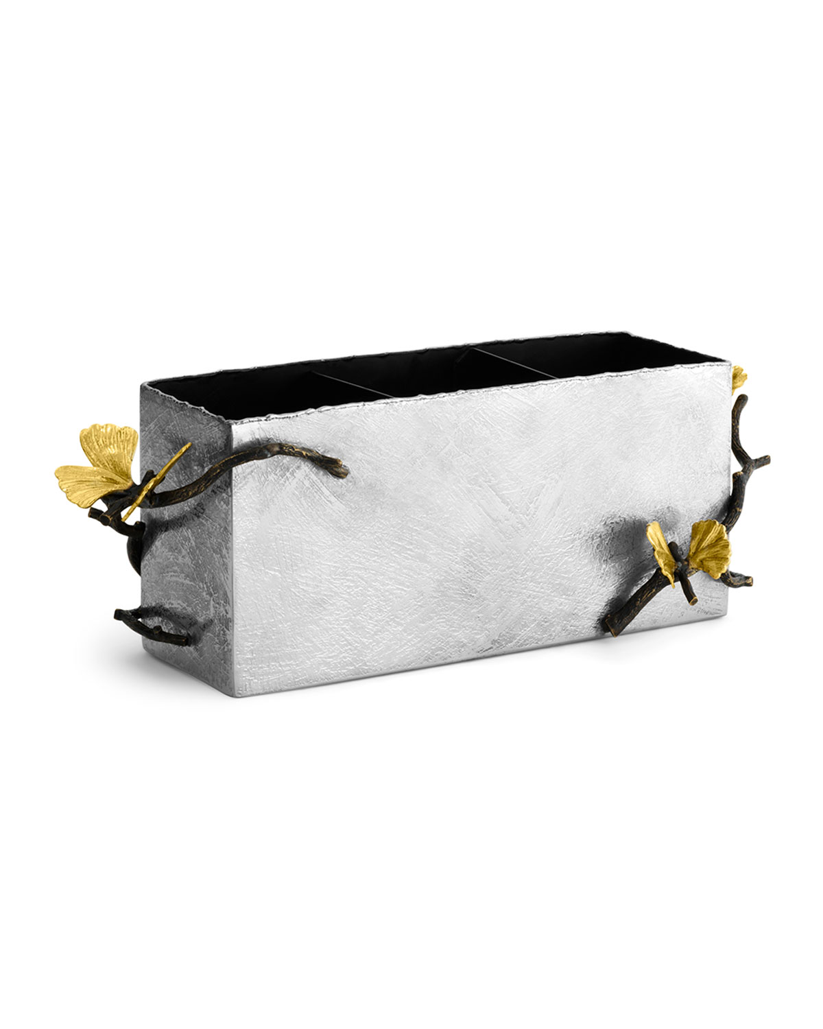 Michael Aram BUTTERFLY GINKGO CUTLERY CADDY