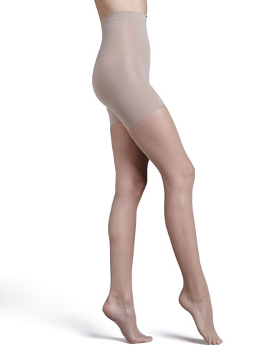 Uptown Tight-End Tights, Micro Fishnet