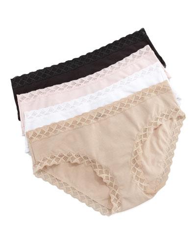 Bliss Cotton Girl Briefs, Pink
