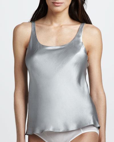 Silk Camisole, Silver