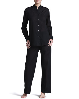 Batiste Pajamas, Black