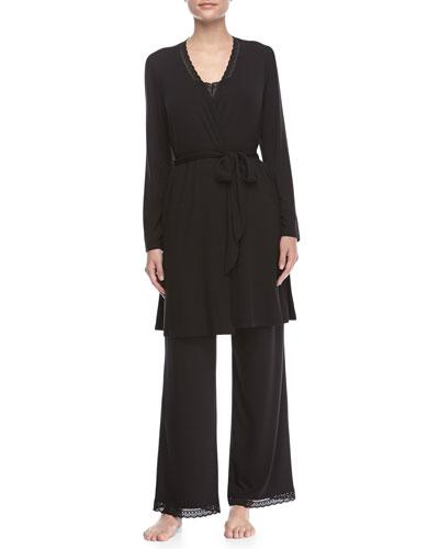 Gisele Long-Sleeve Robe