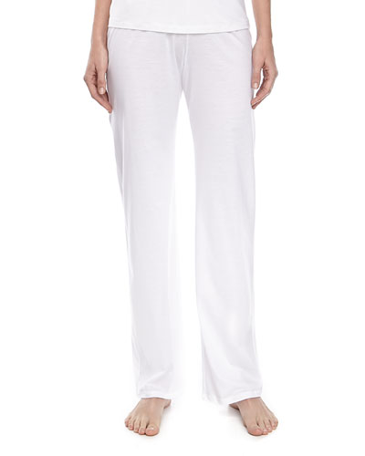 Pima Cotton Drawstring Pants