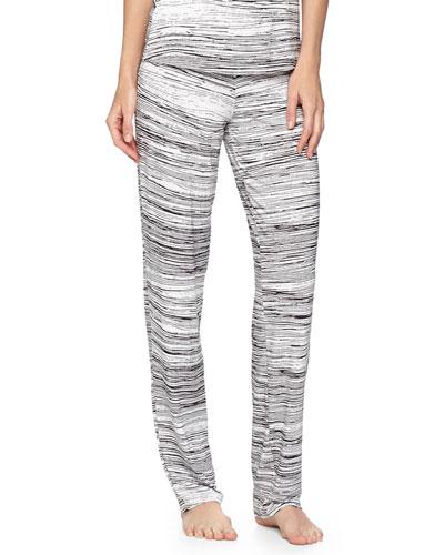 Ambracia Straight-Leg Pants, Black