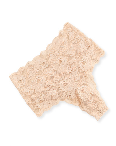 Never Say Never High-Rise Thong, Blush