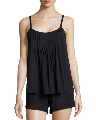 Juliet Short Pajama Set, Black