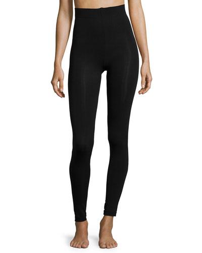 Velvet Sensation Leggings, Black