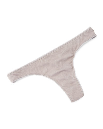 Organic Cotton Thong, Seaweed