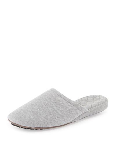 Cashmere-Blend Scuffette Slipper