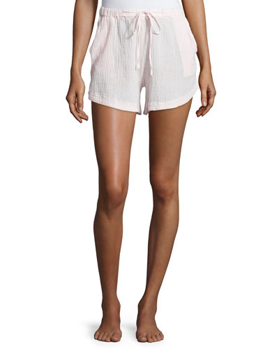 Double-Layer Gauze Lounge Shorts