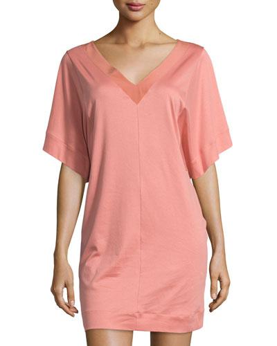 Nuria Short-Sleeve Gown