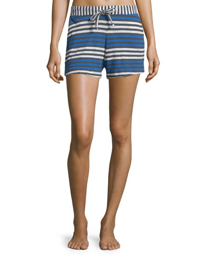 Lesley Striped Shorts