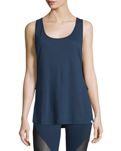Double Time Layered Jersey Sports Tank