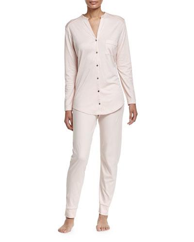 Pure Essence Two-Piece Pajama Set, Roseo