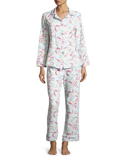 Print Classic Pajama Set, Taffy