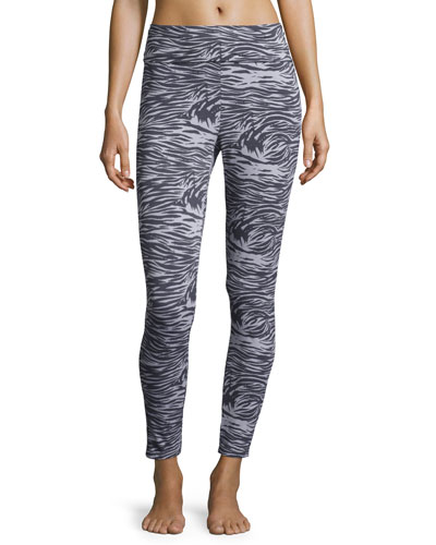 Capone Banded Lounge Leggings, Dove Gray/Anthra