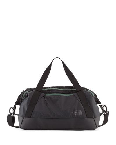 Apex Duffel Gym Bag, Asphalt Gray