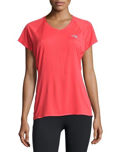 Better Than Naked™ Short-Sleeve Training T-Shirt, Melon Red/Moonlight