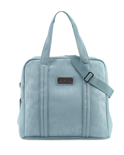 Essentials Small Gym Tote Bag, Chalk Blue