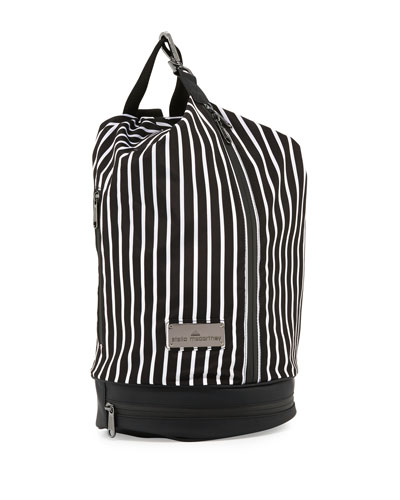 Small Striped Sports Bag