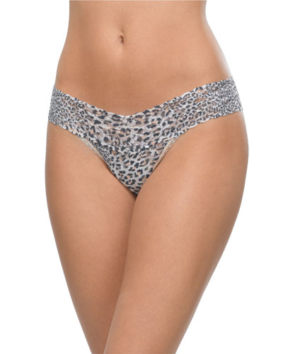 Low-Rise Jaguar Thong