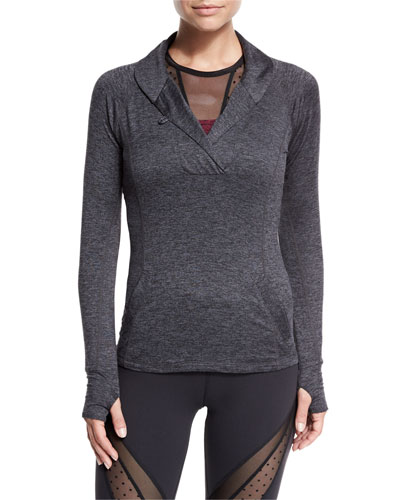 Featherweight For It Pullover, Black Steel