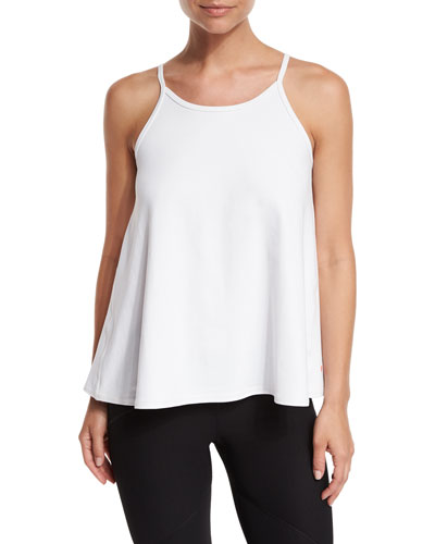 Zest Cutaway-Back Swing Tank, White