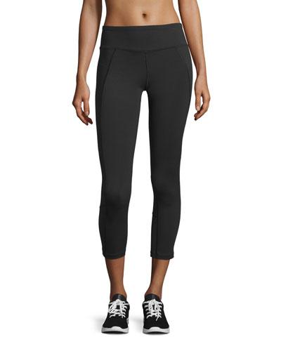 Dynamix Cropped Sport Leggings, TNF Black