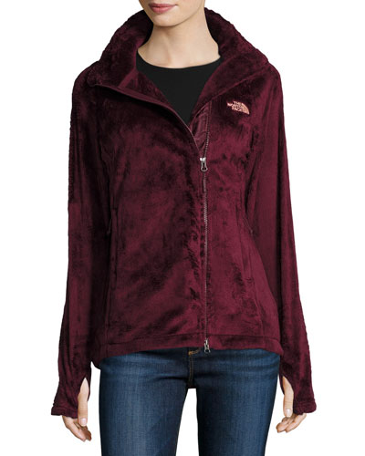 Osito 2 Fleece Parka Jacket, Deep Garnet Red
