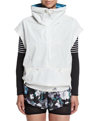 Run Reflective Gilet Vest, White