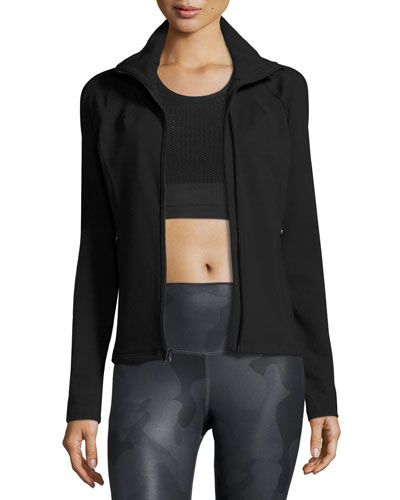 Kata Knit Sport Jacket, Black