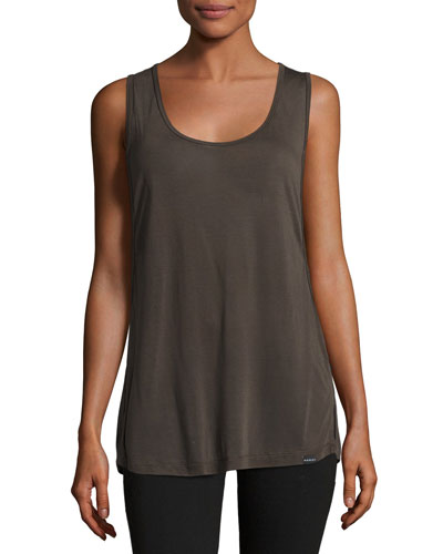 Passenger Double Layer Tank, Vintage Black/Black